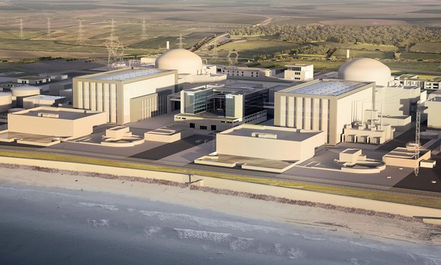 Artist Impression of Hinkley Point C: EDF Energy/PA
